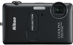 Refurb Nikon 5x Zoom Digital Camera w/ Projector for $80 + free shipping