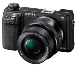 Sony NEX-6L WiFi DSLR-Like Camera, 16-50mm Lens for $500 + free shipping