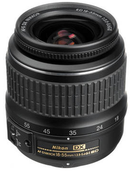Refurb Nikon 18-55mm f/3.5-5.6G AF-S DX Nikkor Lens for $57 + free shipping
