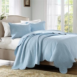Home Essence Tuscany 3-Piece Coverlet Set for $50 + $6 s&h