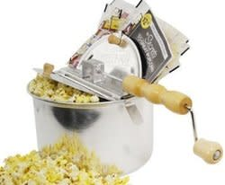 Whirley Pop Stovetop Popcorn Popper Set for $20 + free shipping