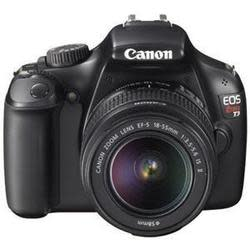 Refurbished Canon Rebel T3 12MP DSLR w/ Lens for $252 + free shipping
