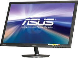 "ASUS 24"" 1080p LED LCD Display for $120 after rebate + free shipping"
