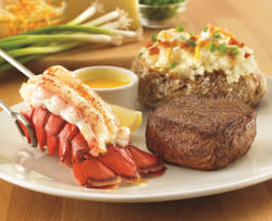 Outback steak lobster