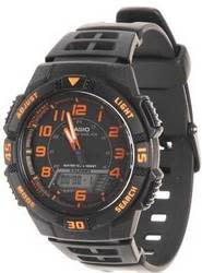 Casio Men's Slim Solar Multifunction Watch for $29 + free shipping via Prime