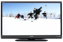"Sharp AQUOS 32"" 720p LED LCD HDTV w/ $100 GC for $250 + free shipping"