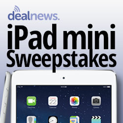 Enter Daily to Win a New iPad mini with Retina Display