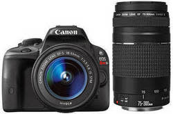 Canon EOS Rebel SL1 2-Lens Bundle for $598 + free shipping