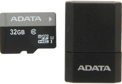 ADATA 32GB microSDHC w/ USB Reader for $11 after rebate + free shipping