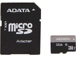 ADATA 32GB Class 10 microSDHC Card 2-Pack for $25 + free shipping