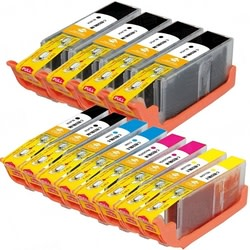 Canon-Compatible Cartridge 12-Pack with Chip for $35 + $4 s&h
