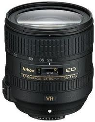 Refurb Nikon AF-S Nikkor 24-85mm f/3.5-4.5G Lens for $290 + free shipping