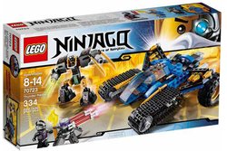 LEGO Ninjago Thunder Raider Set for $19 + pickup at Walmart