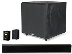 Pinnacle 1,000W 5.1 Sound Bar Home Theater System for $300 + free shipping