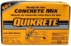 Quikrete Concrete Mix 60-lb. Bag for $2 + pickup at Home Depot
