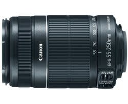 Refurb Canon EF-S 55-250mm f/4-5.6 IS II Lens for $85 + free shipping