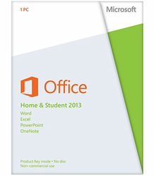 Microsoft Office 2013 Home and Student for PC for $72