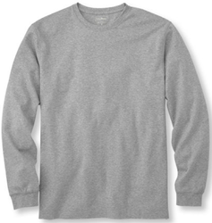 L.L.Bean Men's Interlock Long-Sleeve T-Shirt for $17 + free shipping, more
