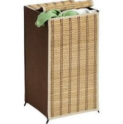 Honey Can Do Tall Bamboo Wicker Weave Hamper $11