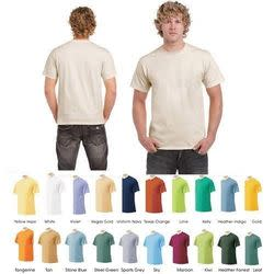 Gildan and Anvil Men's Crew Neck T-Shirt 12-Pack for $25 + free shipping