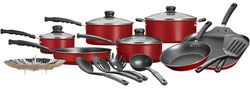 Mainstays 18-Piece Non-Stick Cookware Set for $30