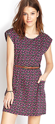 Forever 21 Women's Ditsy Floral Print Dress for $12 + $6 s&h