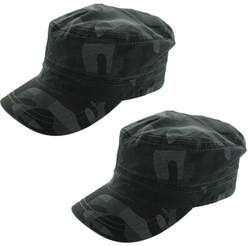 2 Totes Camouflage Cadet Caps for $5 + free shipping