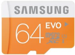 Samsung 64GB microSDXC Card for $30 + pickup at Best Buy, 32GB for $15