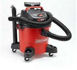 Craftsman 6-Gallon 3 Peak HP Wet/Dry Vac for $40 + pickup at Sears