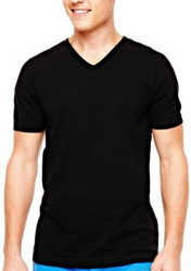 Arizona Men's Slubbed V-Neck T-Shirt for $5 + $3 pickup at JCPenney