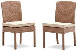 2 Strathwood Griffen Wicker Dining Chairs for $89 + free shipping