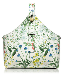Tory Burch Printed Garden Tote for $315 + free shipping