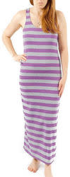 A-Fashion Women's Racerback Striped Maxi Dress for $9 + free shipping