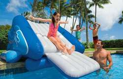 Intex Kool Splash Inflatable Water Slide for $75