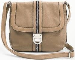 Kenneth Cole Reaction Women's Zip It To Me Cross-Body Bag for $20 + $8 s&h