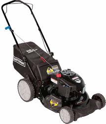 "Craftsman 21"" 190cc Rear Bag Push Mower for $237 + free shipping"