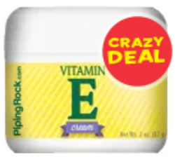 Piping Rock Vitamin E 2-oz. Moisturizing Cream for $2 + free shipping