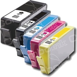 Refurbished HP 564XL-Compatible Inkjet Cartridge 5-Pack for $20 + $4 s&h