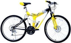 "Titan Unisex 26"" Glacier Dual Suspension Bike for $260 + free shipping"
