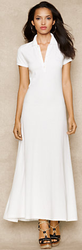 Ralph Lauren Blue Label Women's Polo Maxidress for $139 + free shipping