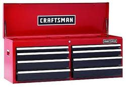 "Craftsman 52"" 8-Drawer Heavy-Duty Top Chest for $277 + pickup at Sears"