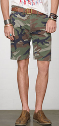 Denim & Supply Ralph Lauren Men's Slim Chino Shorts for $17 + $5 s&h