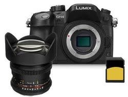 Panasonic Lumix GH4 4K 16MP Camera w/ 14mm lens for $1,750 + free shipping