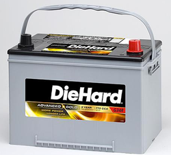 DieHard Batteries at Sears: 25% off, $5 off $50 + pickup