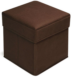 Badger Basket Folding Storage Ottoman for $16 + pickup at Walmart