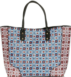 Topshop Tile Print Tote for $35 + free shipping