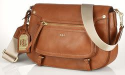 Lauren by Ralph Lauren Women's Humphrey Bag for $140 + free shipping