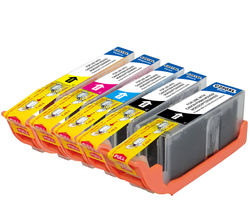 G&G Canon-Compatible Cartridge 5-Pack with Chip for $10 + free shipping
