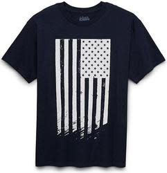 Men's Patriotic Graphic T-Shirts for $4 + pickup at Sears