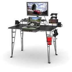 Atlantic Computer Gaming Desk for $100 + free shipping